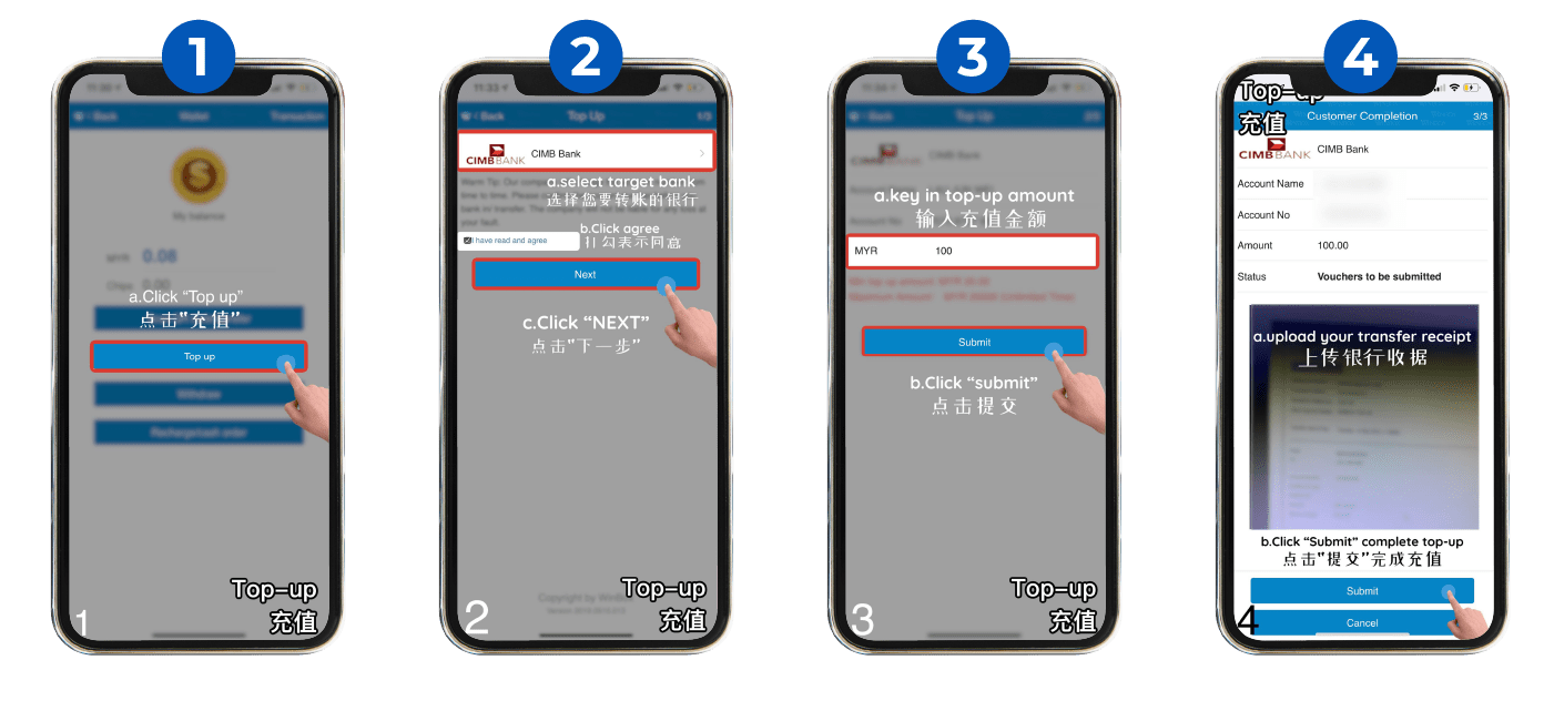 How to Top Up Winbox Malaysia